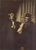Two Lawyers, daumier