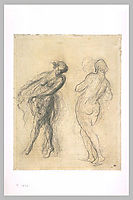 Two sketches for a dancer, daumier