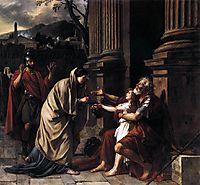 Belisarius Begging for Alms, 1781, david