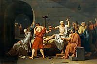 The Death of Socrates, 1787, david