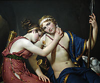 The Farewell of Telemachus and Eucharis, david
