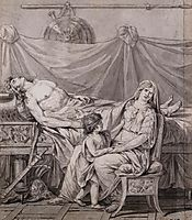 The Grief of Andromache, 1782, david