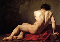 Male Nude known as Patroclus, david