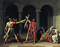 The Oath of the Horatii, 1784, david