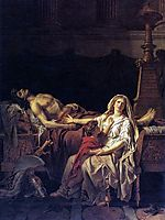 The Pain of Andromache, 1783, david