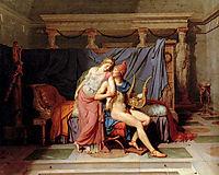 Paris and Helen , 1788, david