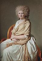 Portrait of Anne-Marie-Louise Thelusson, Comtesse de Sorcy, 1790, david