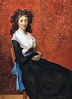 Portrait of Madame Charles-Louis Trudaine , 1792, david
