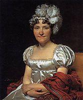 Portrait of Marguerite Charlotte David, 1813, david