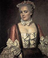 Portrait of Marie Francoise Buron, 1769, david