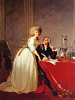 Portrait of Monsieur Lavoisier and His Wife, 1788, david