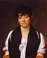 Portrait of Suzanne Le Pelletier de Saint Fargeau, 1804, david