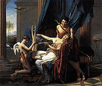 Sappho and Phaon, 1809, david