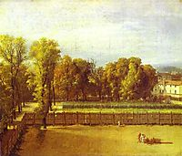 View of the Luxembourg Gardens in Paris, 1794, david