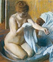 After the Bath, 1886, degas