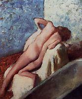 After the Bath, 1896, degas