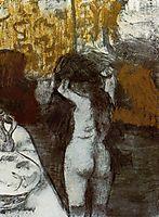 After the Bath, c.1877, degas