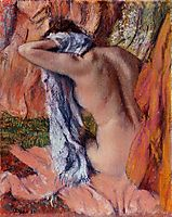 After the Bath, c.1893, degas