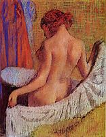 After the Bath, c.1895, degas