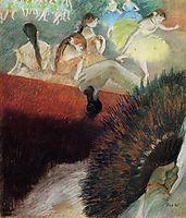 At the Ballet, c.1881, degas
