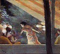 At the Cafe des Ambassadeurs, 1885, degas