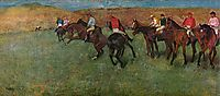 At the Races - Before the Start, c.1892, degas