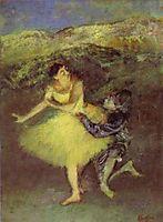 Ballet at the Paris Opera, 1877, degas
