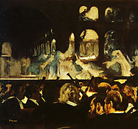 Ballet Scene from Robert la Diable, 1872, degas