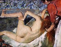 The Bath (Woman from Behind), 1895, degas