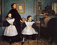 The Belleli Family, 1862, degas