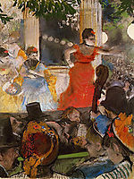 Coffee Concert at the Ambassadors, 1875-1878, degas