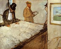 Cotton Merchants in New Orleans, 1873, degas