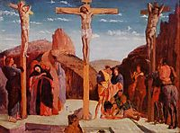 The Crucifixion (after Mantegna), 1861, degas