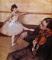 The Dance Lesson, 1879, degas