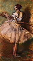 Dancer at the Barre, c.1888, degas