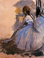 Dancer Seated (study), 1872, degas