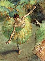 Dancer Tilting, c.1883, degas