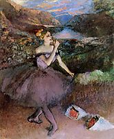 Dancer with Bouquets, c.1895, degas