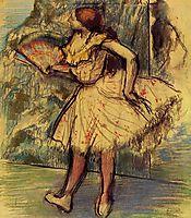 Dancer with a Fan, c.1901, degas