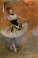Dancer with Tambourine, c.1882, degas