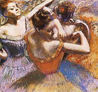 Dancers, 1899, degas