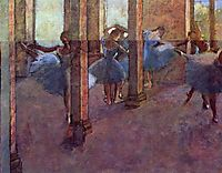 Dancers in Foyer, 1890, degas