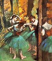 Dancers, Pink and Green, 1890, degas