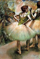 Dancers, Pink and Green, 1894, degas