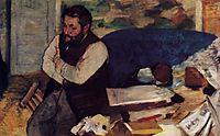 Diego Martelli, 1879, degas