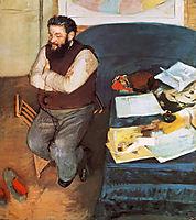 Diego Martelli , 1879, degas
