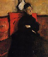 Duchesse de Montejasi-Cicerale, c.1868, degas