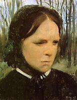 Estelle Musson Balfour, c.1865, degas
