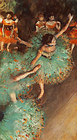The Green Dancer, 1879, degas