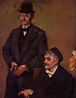 Henri Rouart and His Son Alexis, c.1898, degas